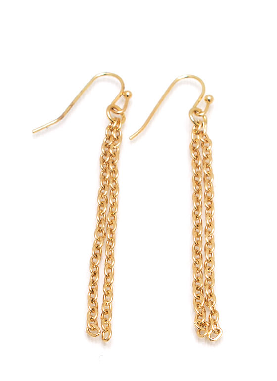 Layered Chains Necklace Set GOLD