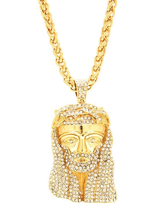 Go Down Moses Necklace GOLD