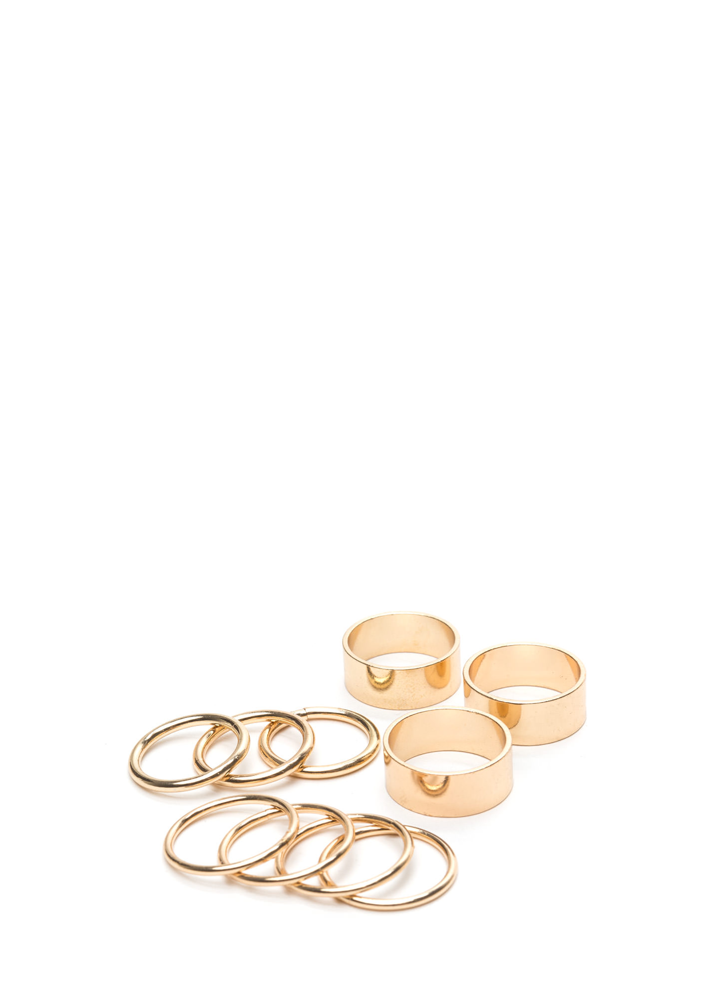 Party Time Ring Set GOLD
