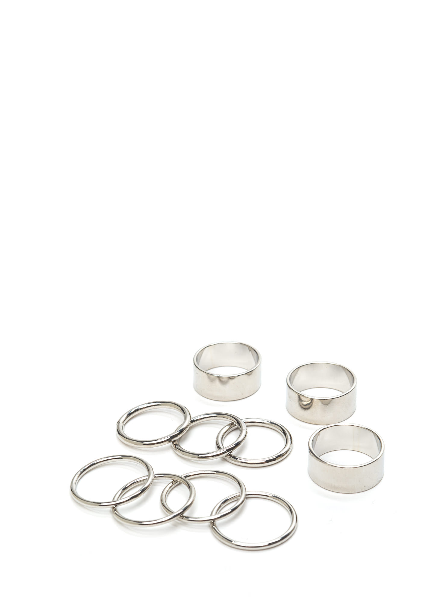 Party Time Ring Set SILVER