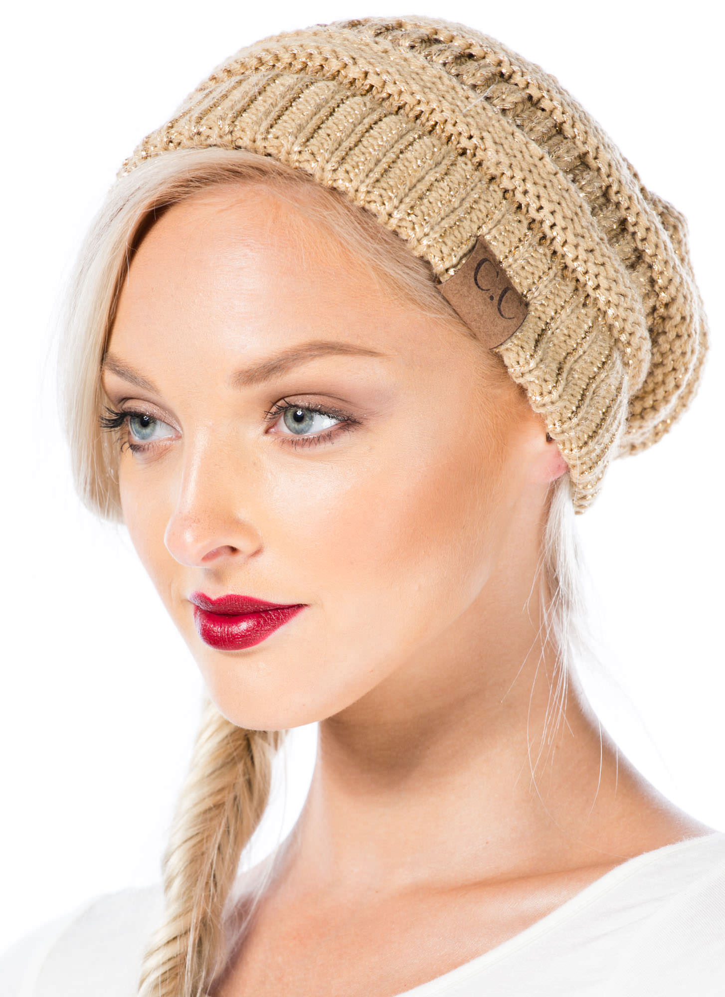 CC Cable Kit Beanie GOLD