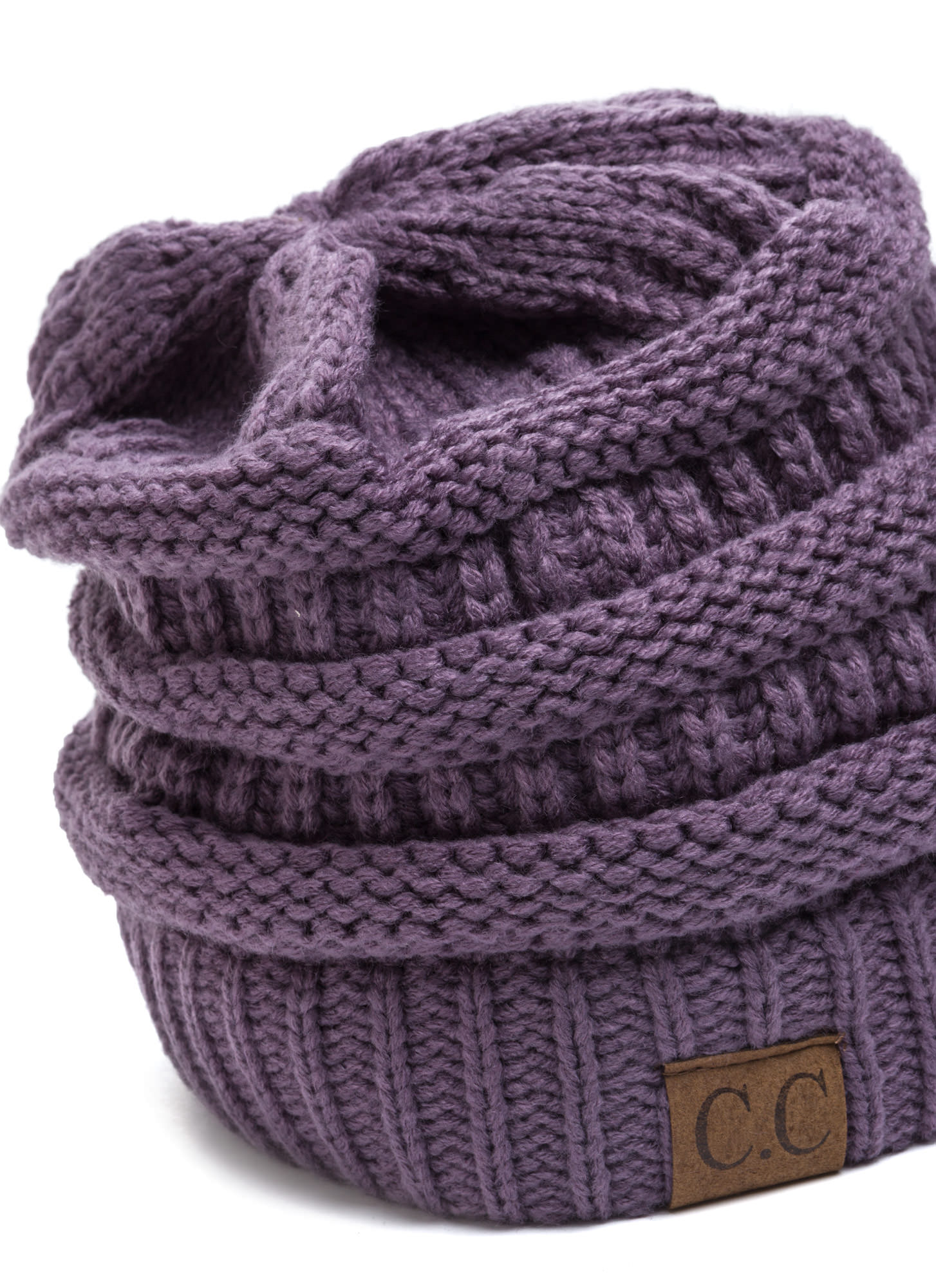 CC Cable Kit Beanie LAVENDER