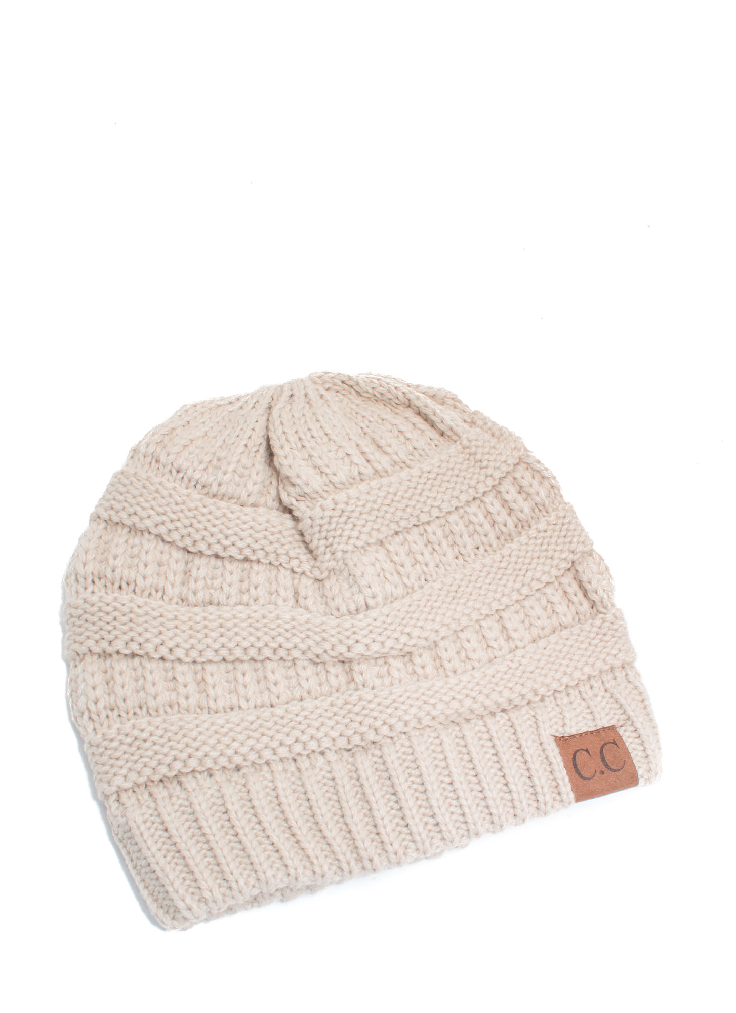 CC Cable Kit Beanie OATMEAL