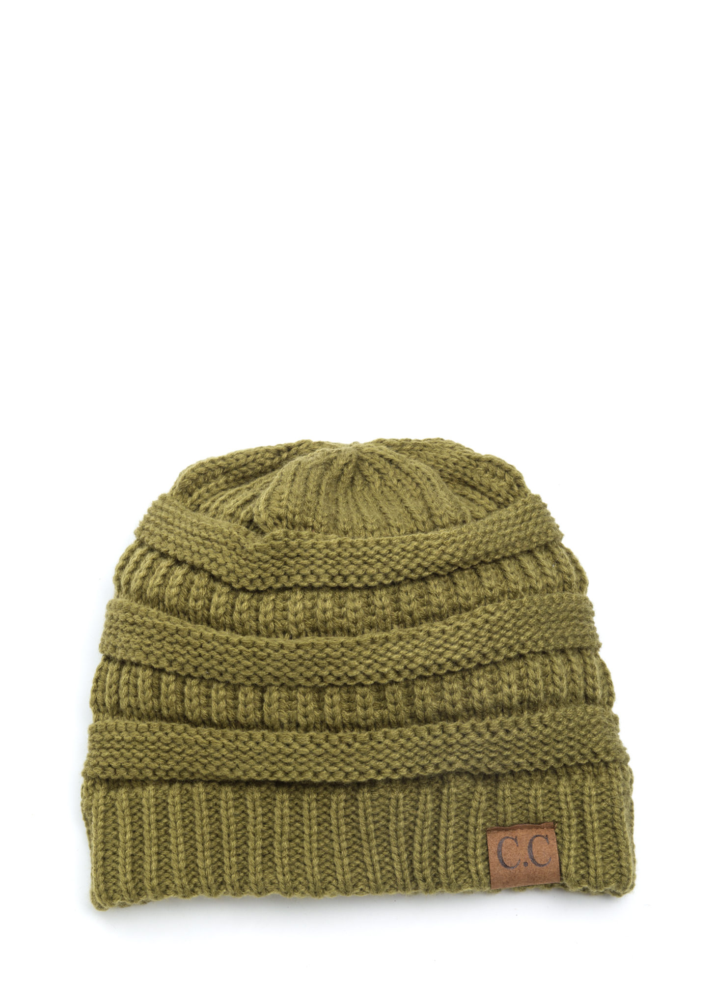 CC Cable Kit Beanie OLIVE