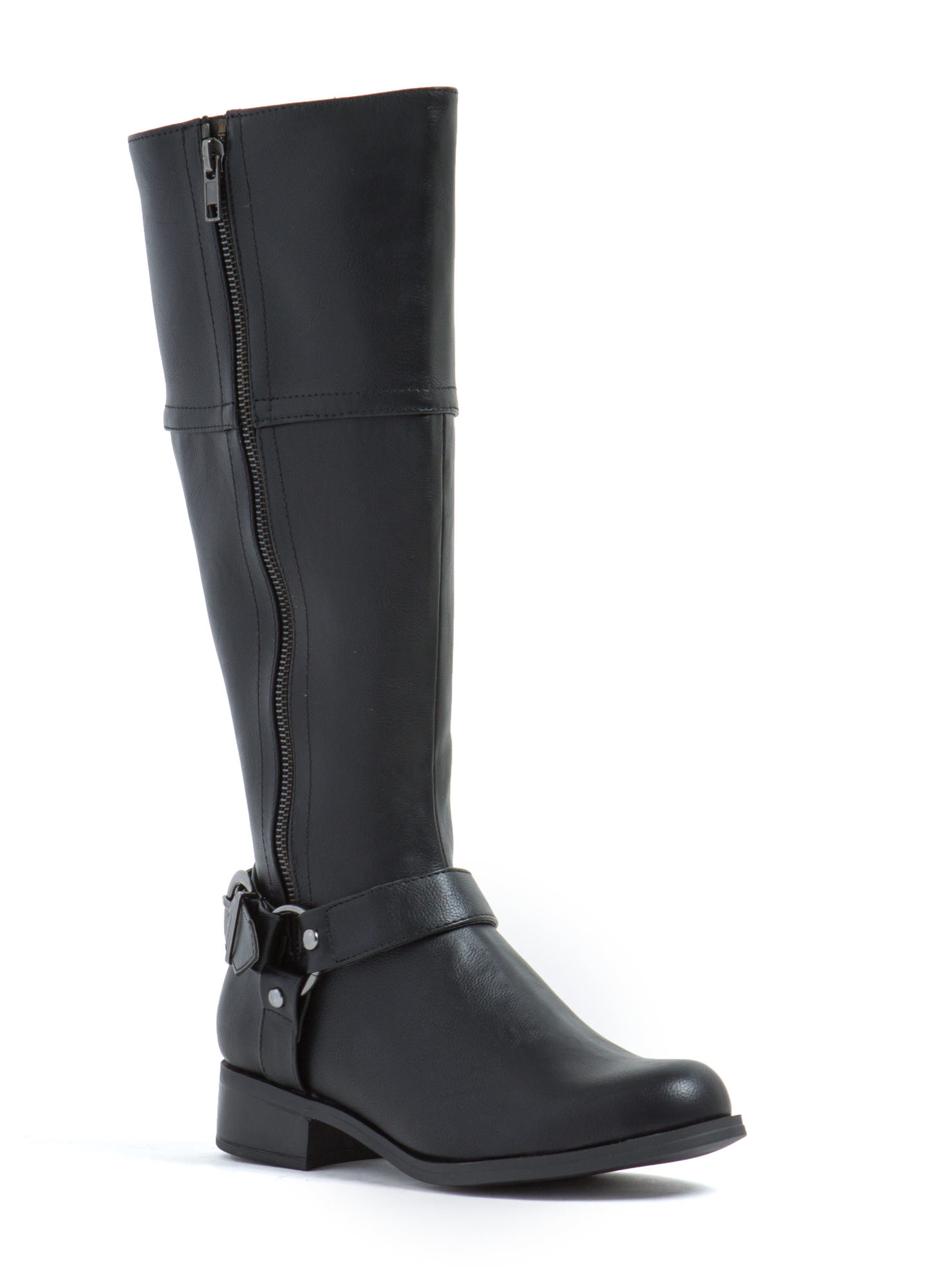 Zip It Good Riding Boots BLACK