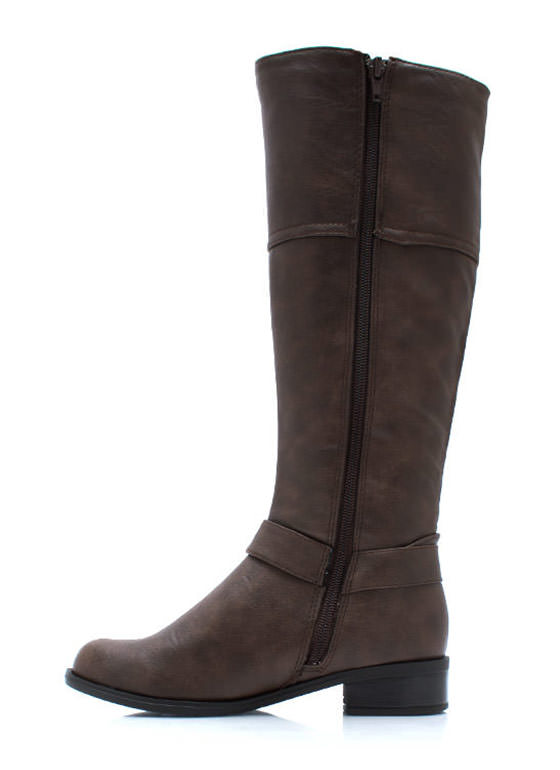 Zip It Good Riding Boots BROWN