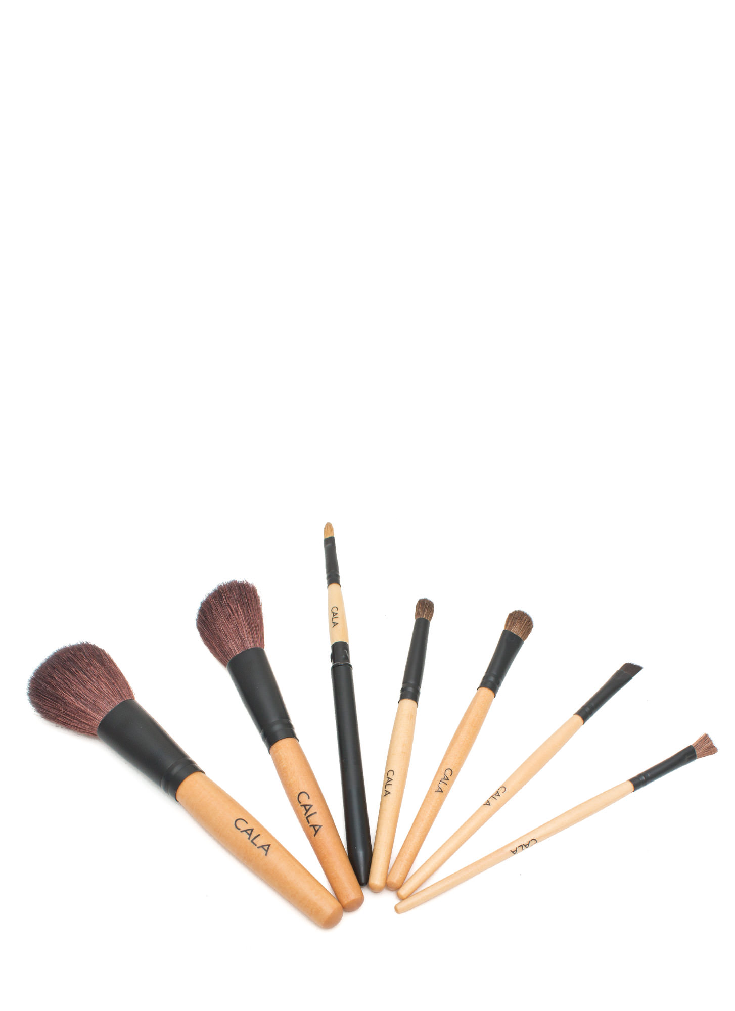 Make It Up Cosmetic Brush Collection BLACK