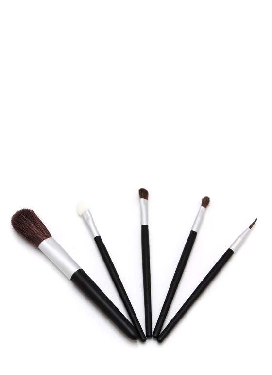 Make It Up Cosmetic Brush Kit BLACK