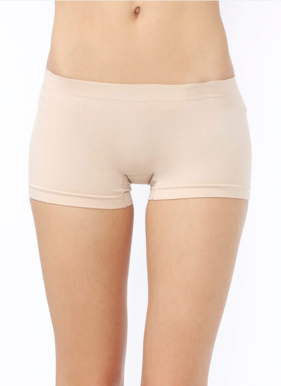 Shaping Boy Shorts BEIGE