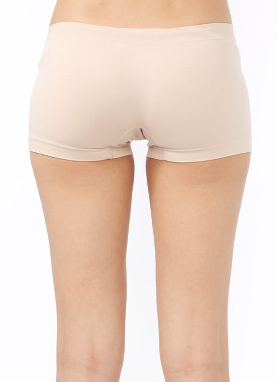 Shaping Boy Shorts BEIGE (Final Sale)