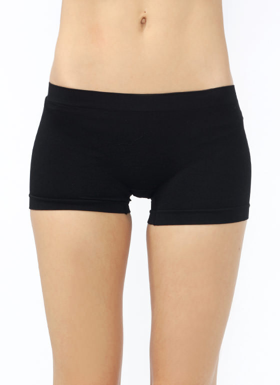 Shaping Boy Shorts BLACK (Final Sale)