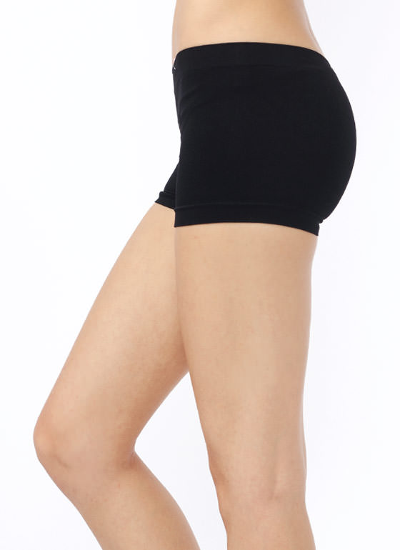 Shaping Boy Shorts BLACK