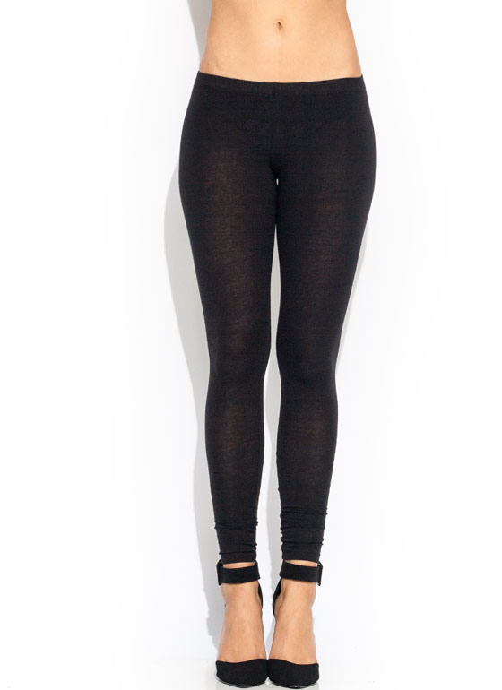 Basic Babe Leggings BLACK