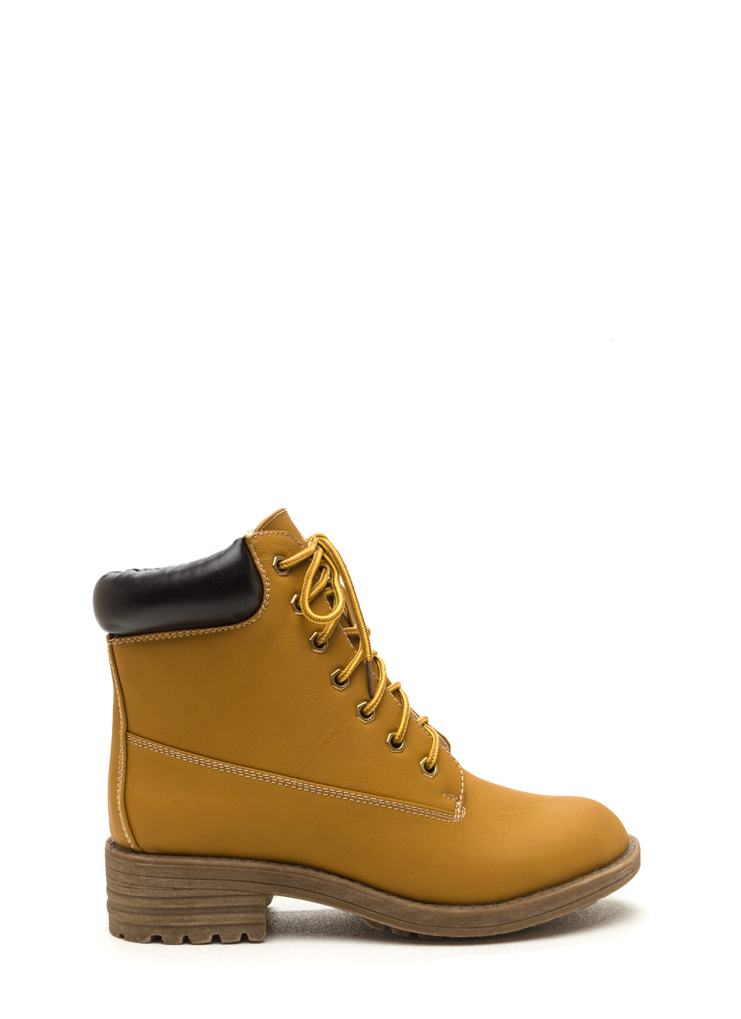 Take A Hike Lace Up Boots WHEAT