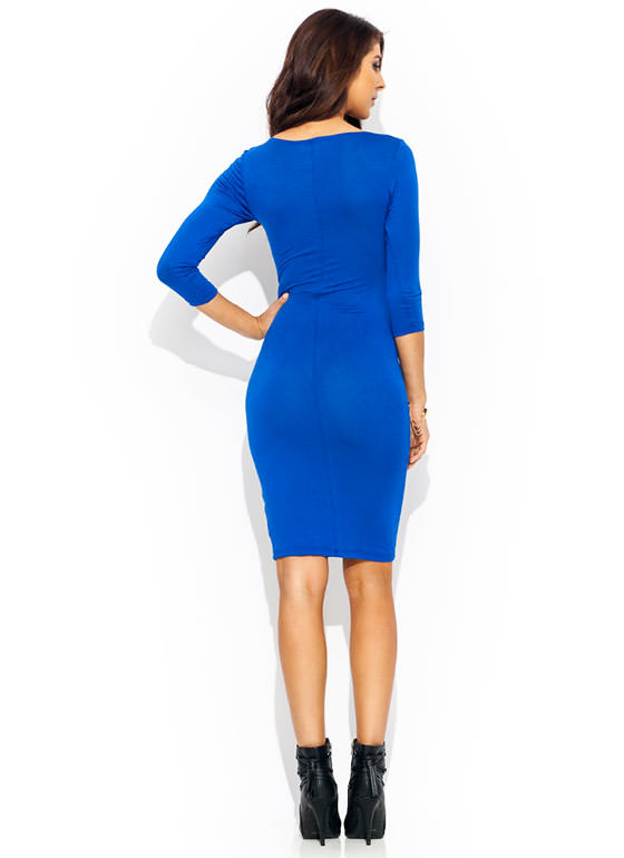 Basically Banging Midi Dress ROYAL