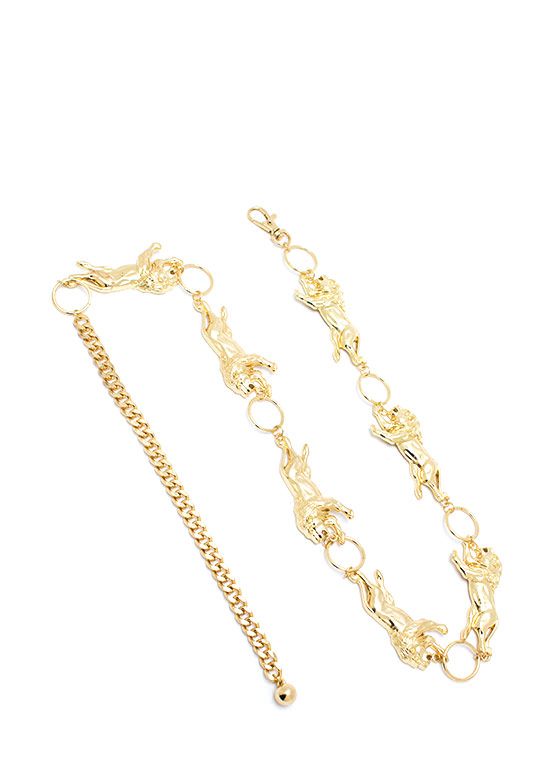 Lion Around You Chain Belt GOLD
