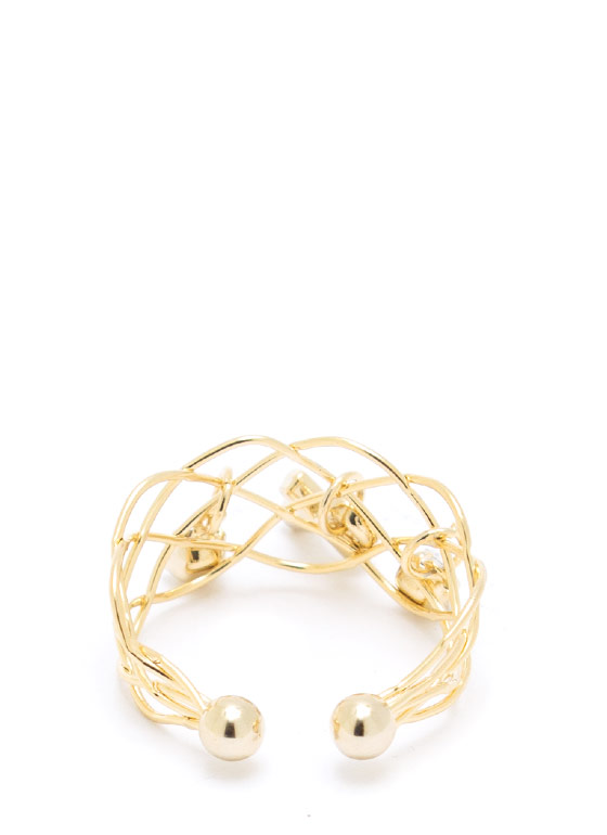 Cross Your Heart Ring GOLD