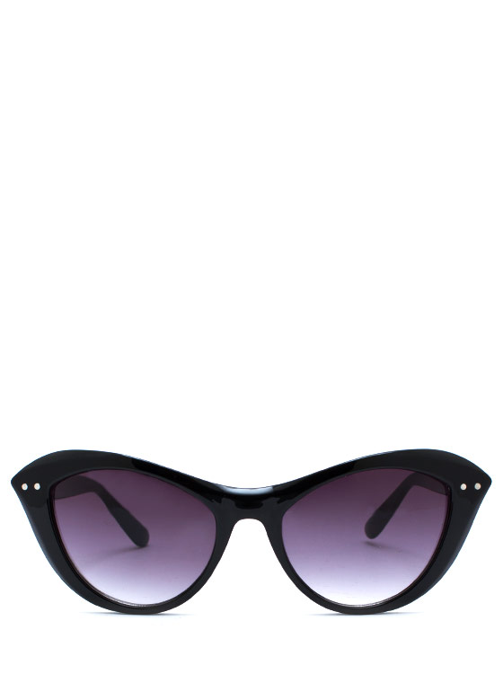 Miss Kitty Sunglasses BLACKBLACK