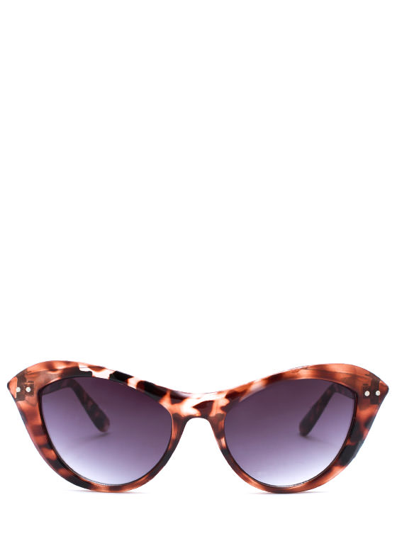 Miss Kitty Sunglasses DKTORTOISE