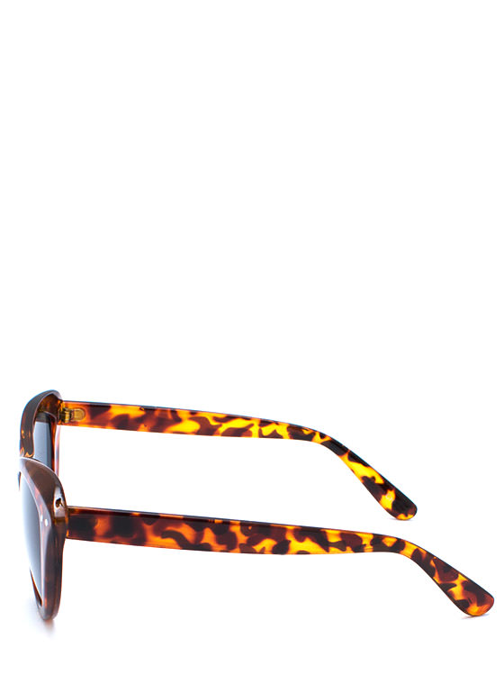 Miss Kitty Sunglasses TORTOISE
