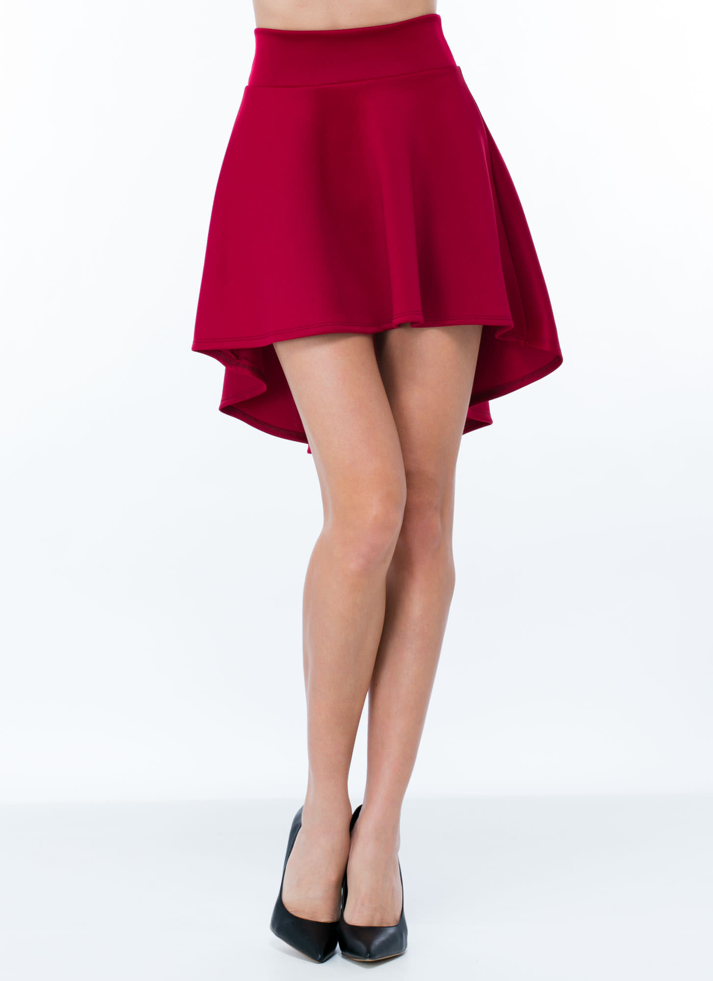 High-Low Skater Girl Skirt RUBY