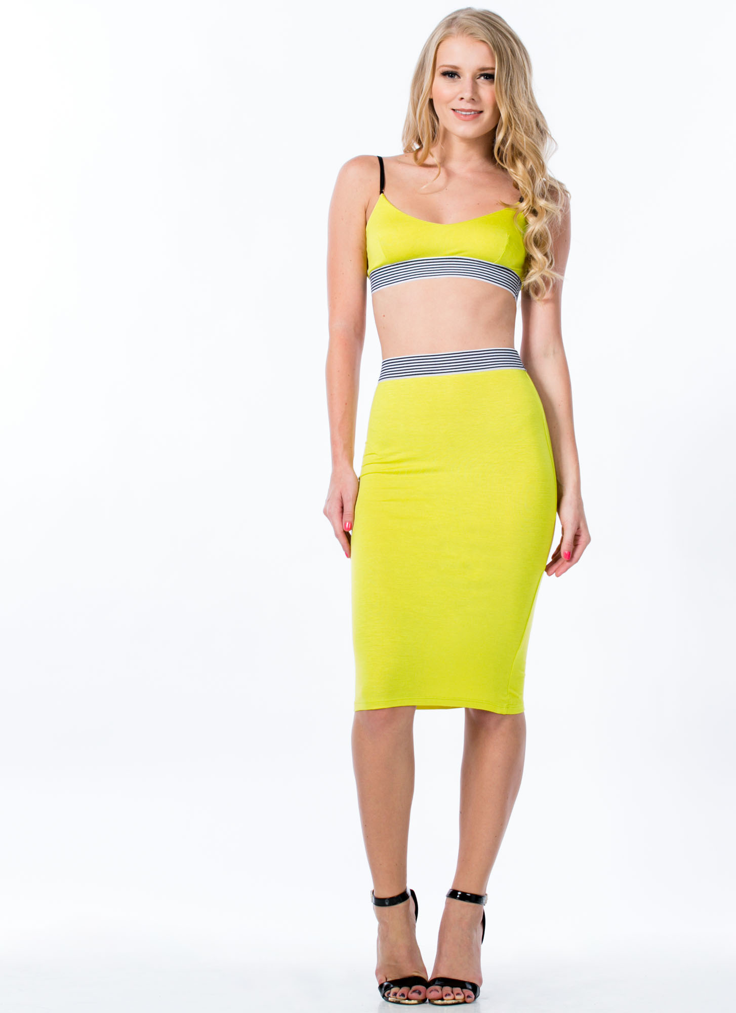 Not Just For Sport Bralette CITRON