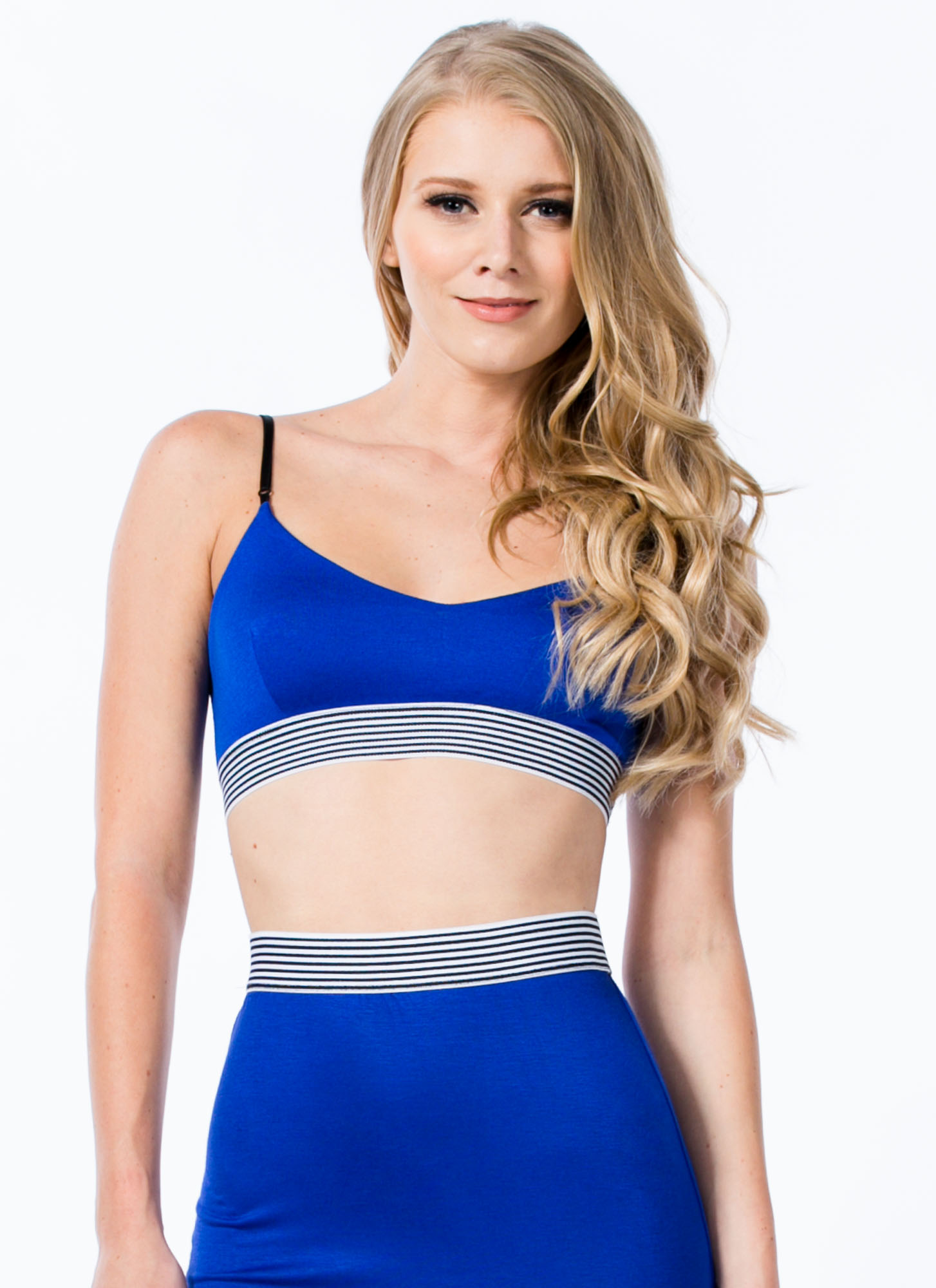 Not Just For Sport Bralette ROYAL
