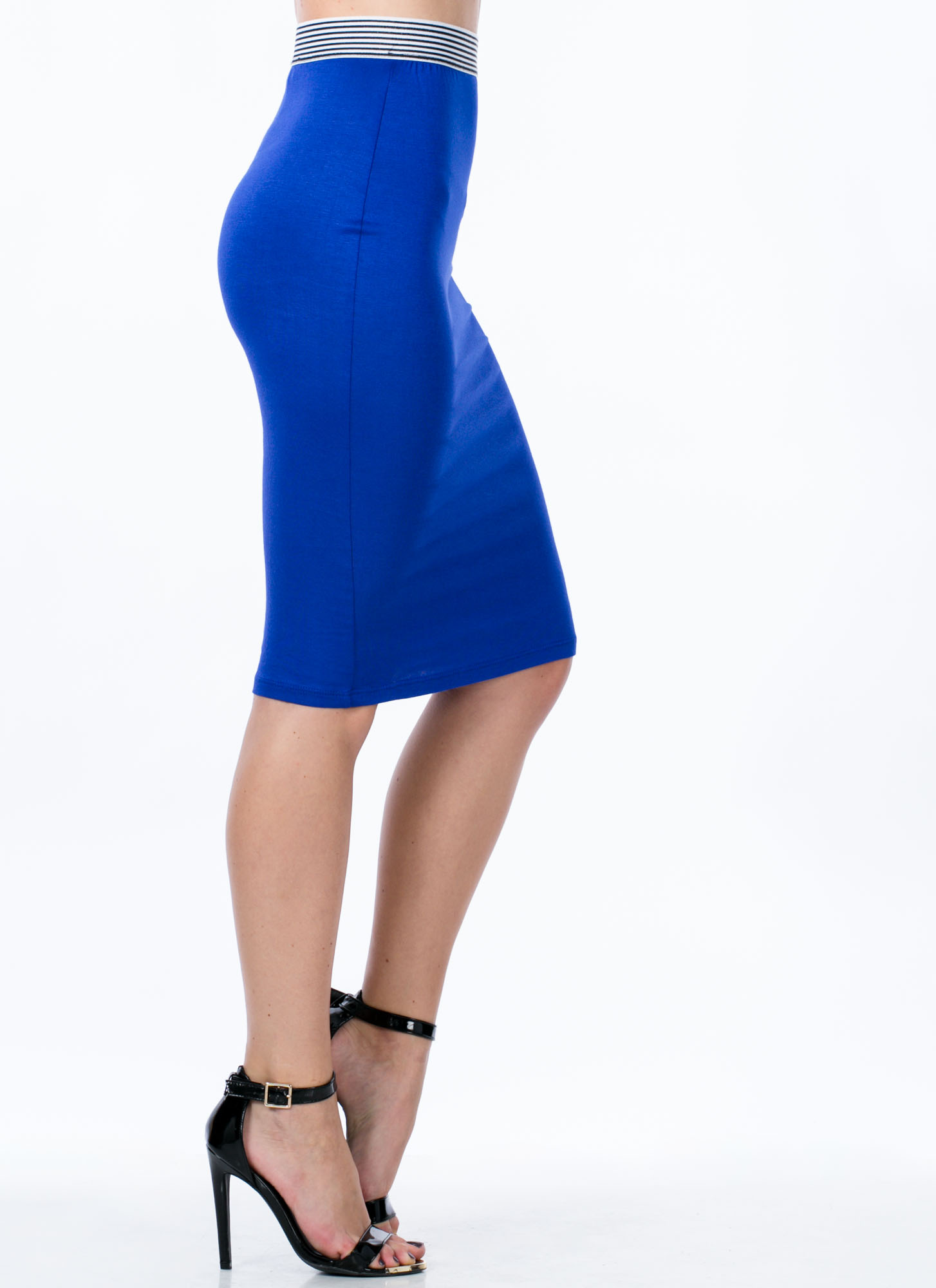 Not Just For Sport Pencil Skirt ROYAL