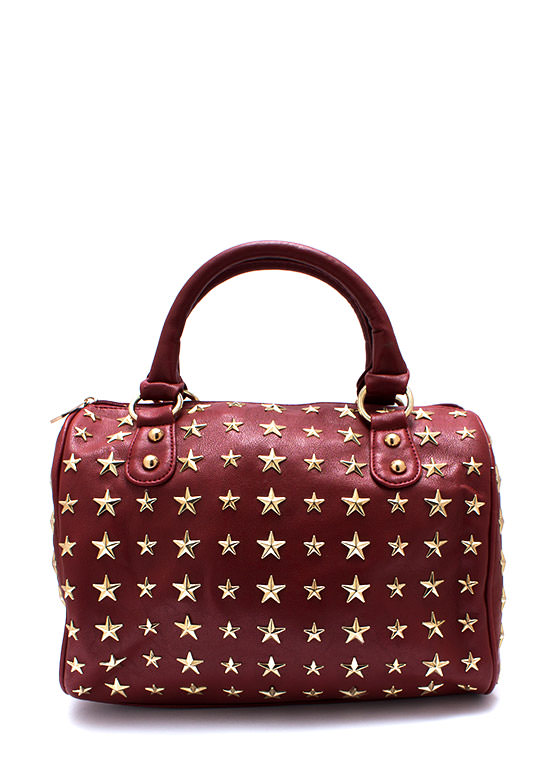 Seeing Stars Handbag WINEGOLD