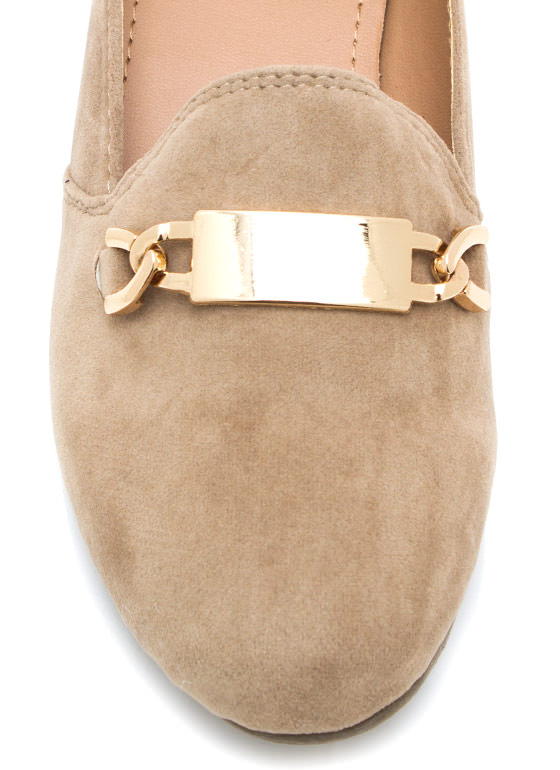 Plaque Magic Smoking Flats TAUPE