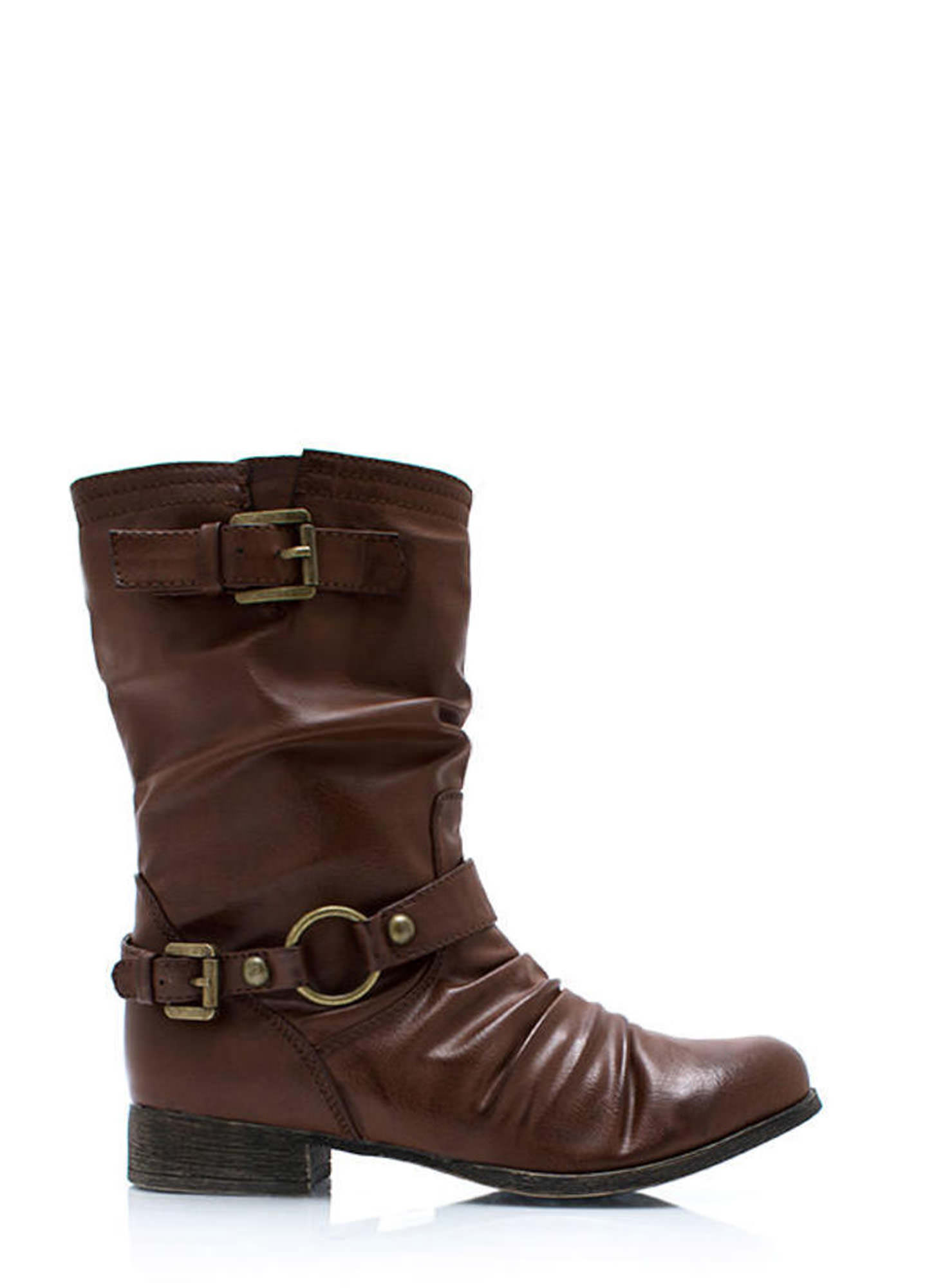 In The Loop Moto Boots WHISKY