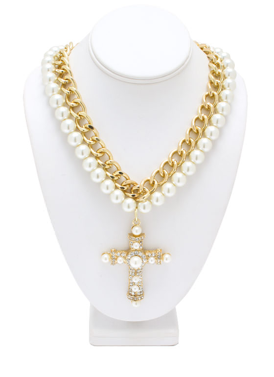 Pearl Gates Necklace GOLDIVORY