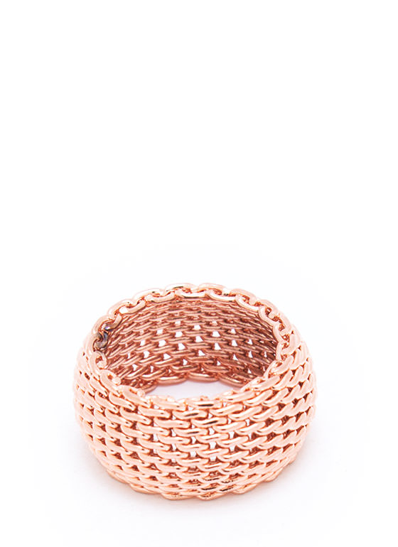 Coat Of Mail Ring ROSEGOLD