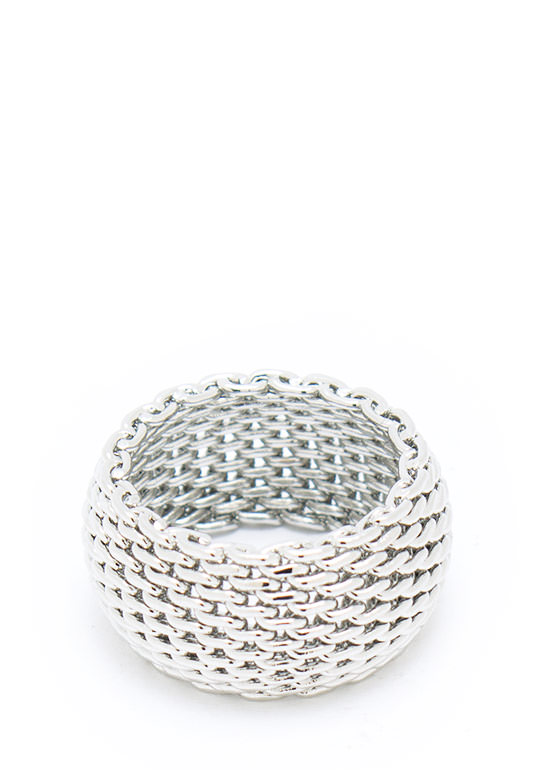 Coat Of Mail Ring SILVER