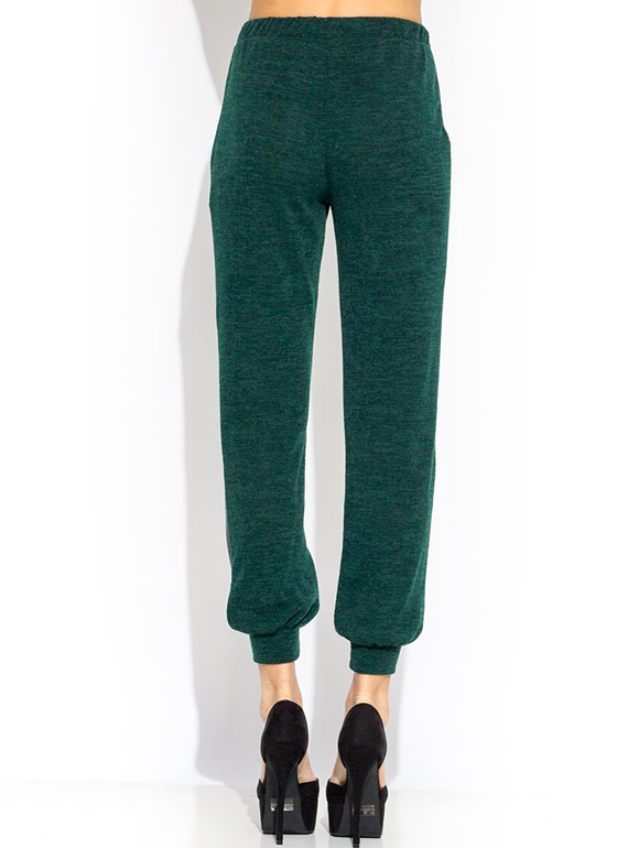 Faux Fun Sweater Joggers GREEN
