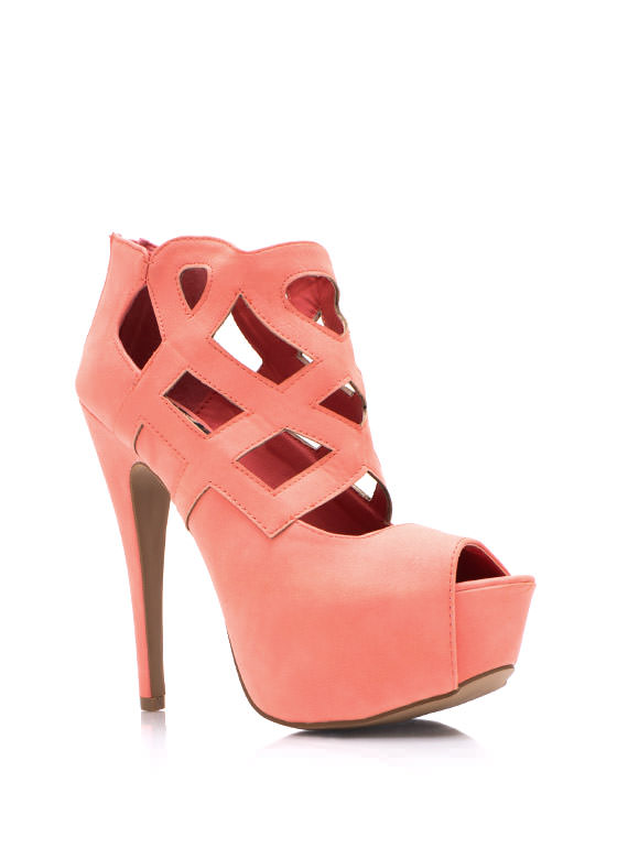 Shape It Up Heels SALMON