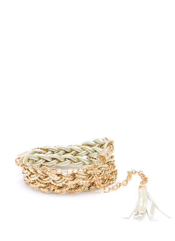Interwoven Braid Belt GOLDCHAMP