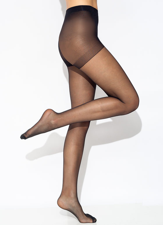Super Supportive Pantyhose BLACK