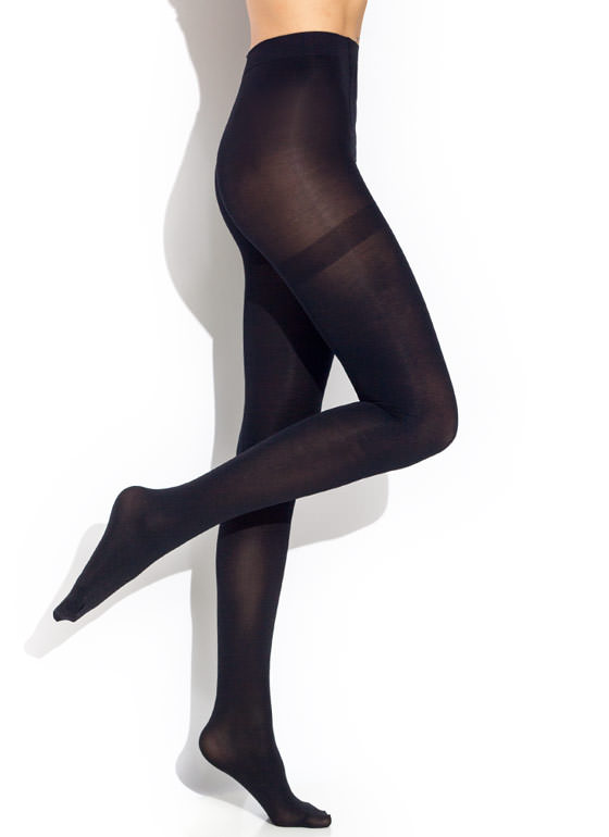 In Control Top Pantyhose BLACK (Final Sale)