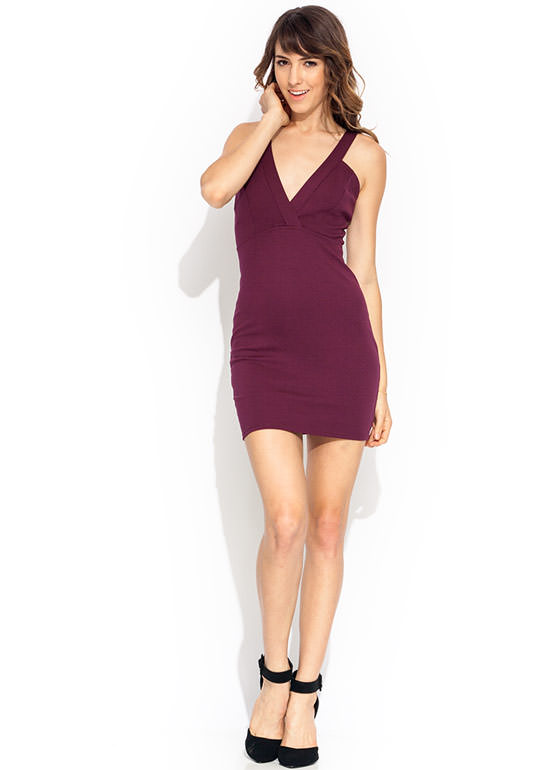 Harnessed Surplice Dress RUBY
