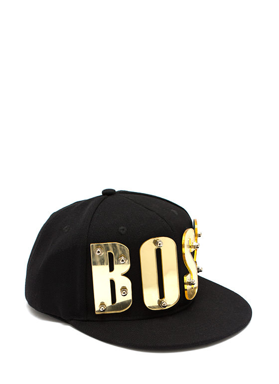 Big Boss Snapback BLACKGOLD