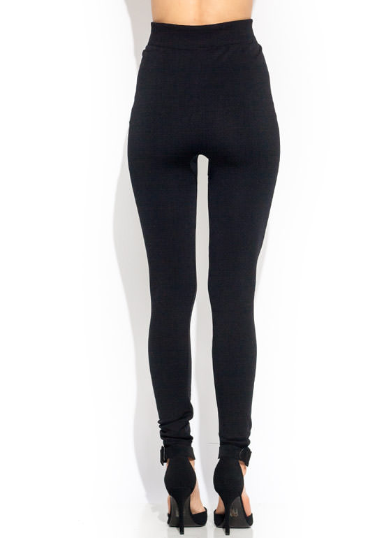 Fleece Is The Word Seamless Leggings BLACK