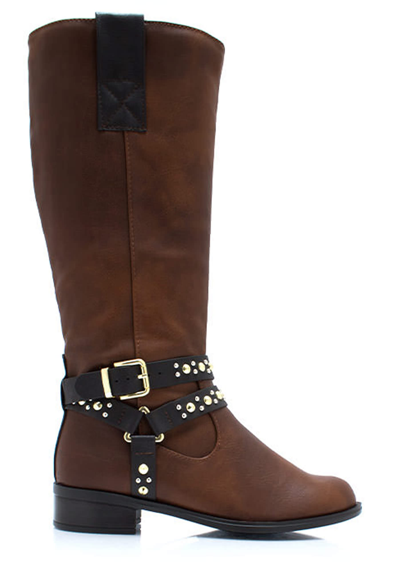 Studly Harness Riding Boots DKTAN