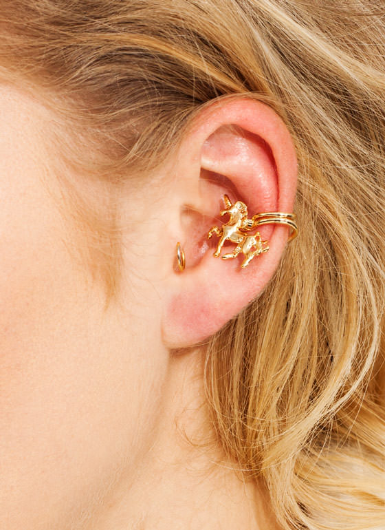 My Little Unicorn Ear Cuff GOLD