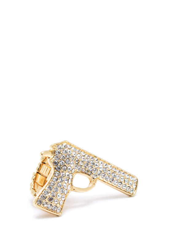 Armed And Fabulous Ring GOLD