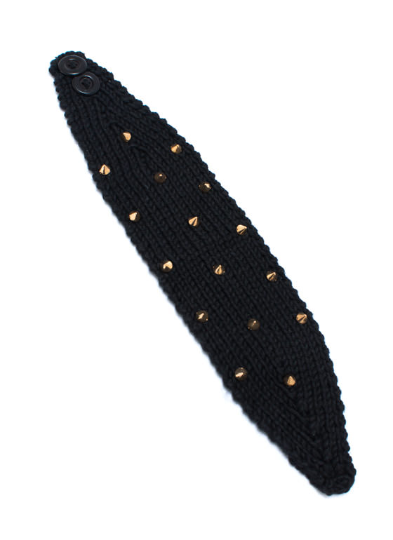 Spike My Interest Headband BLACKGOLD