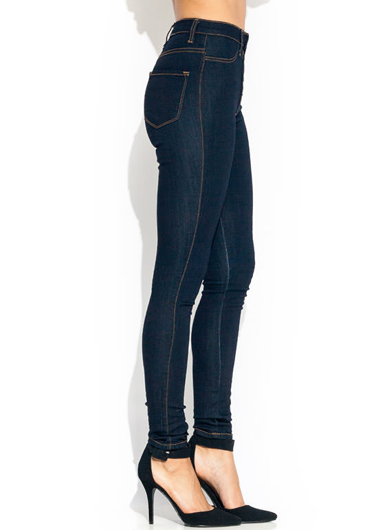 Anyplace High Waisted Jeans INDIGO