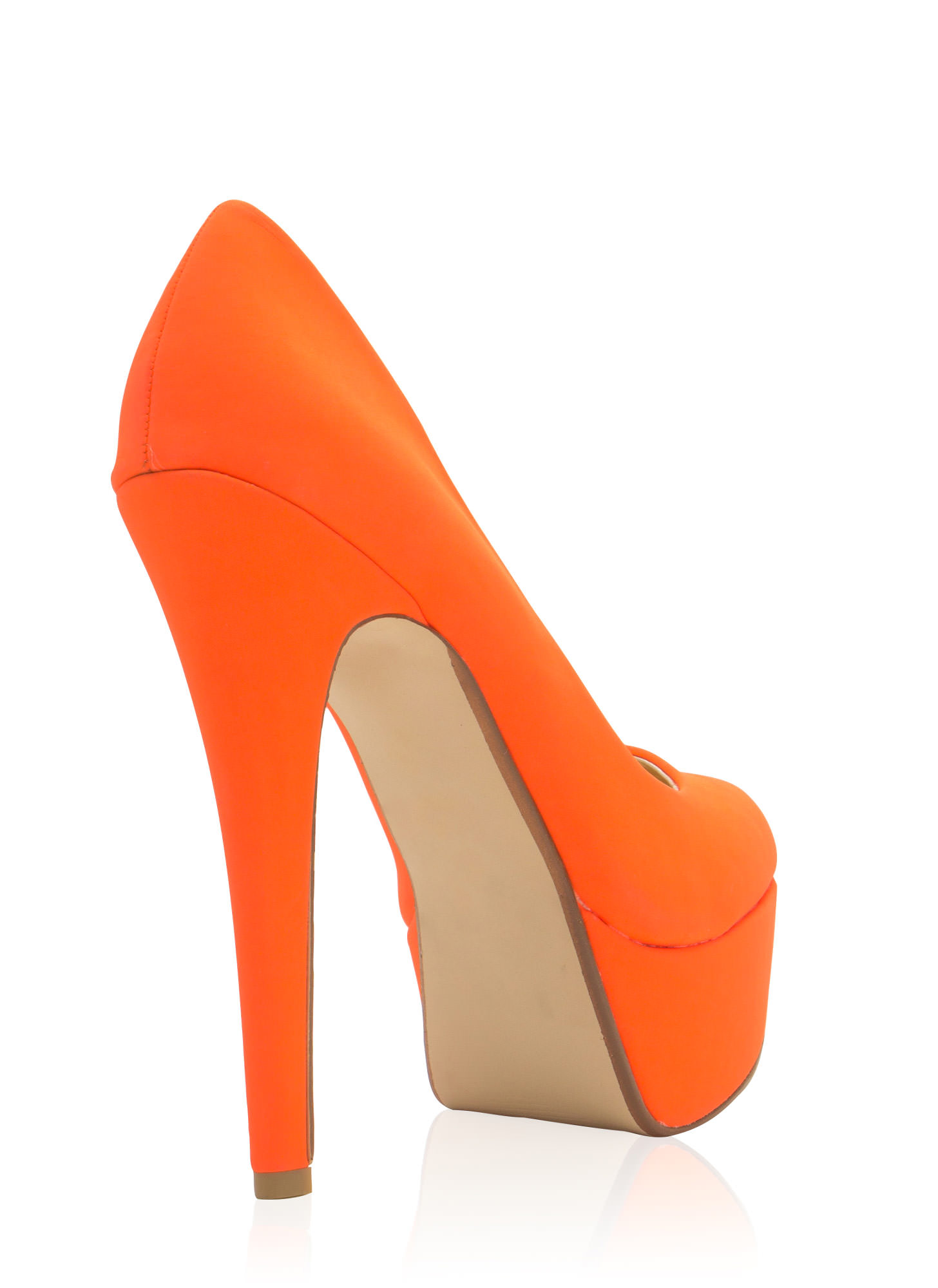 Simply Irresistible Platforms NEONORANGE