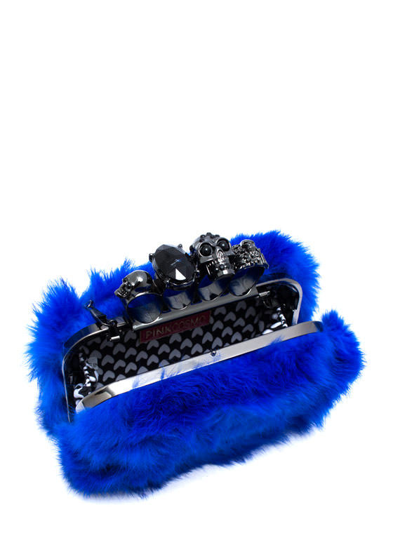 So Fluffy Im Gonna Die Clutch BLUEPEWTER