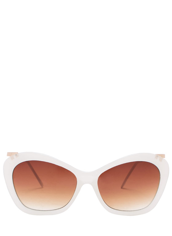Butterfly Effect Sunglasses IVORYBRN
